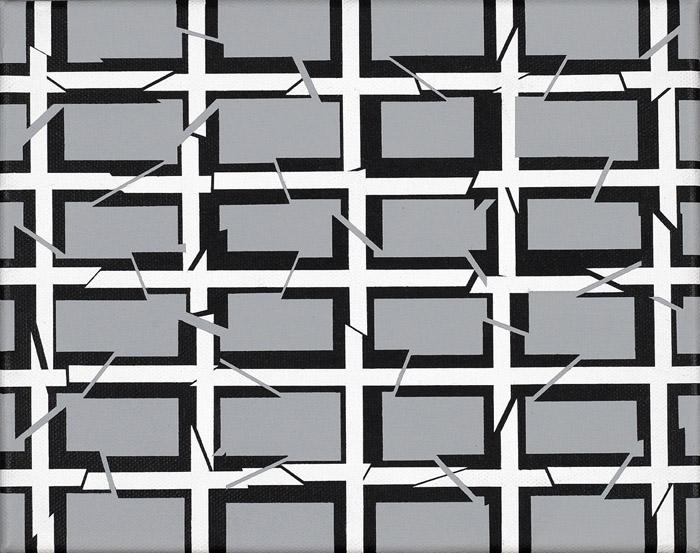 Untitled, 2010, acrylic on canvas, 20 x 25 cm