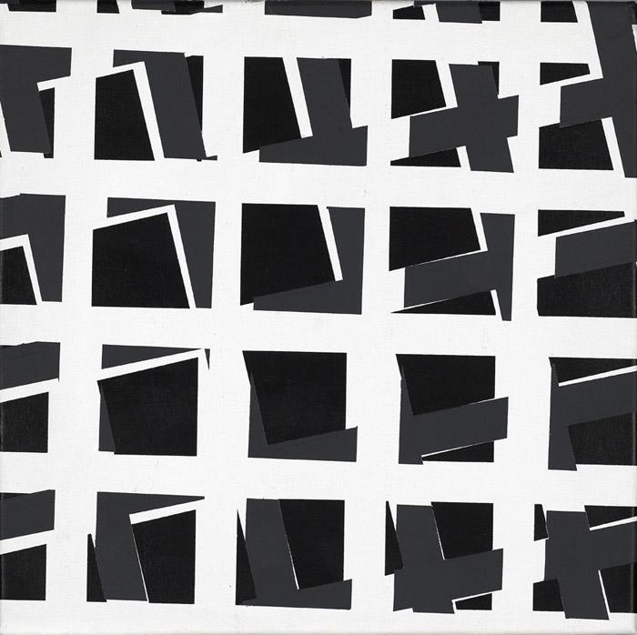 Untitled, 2010, acrylic on canvas, 30 x 30 cm