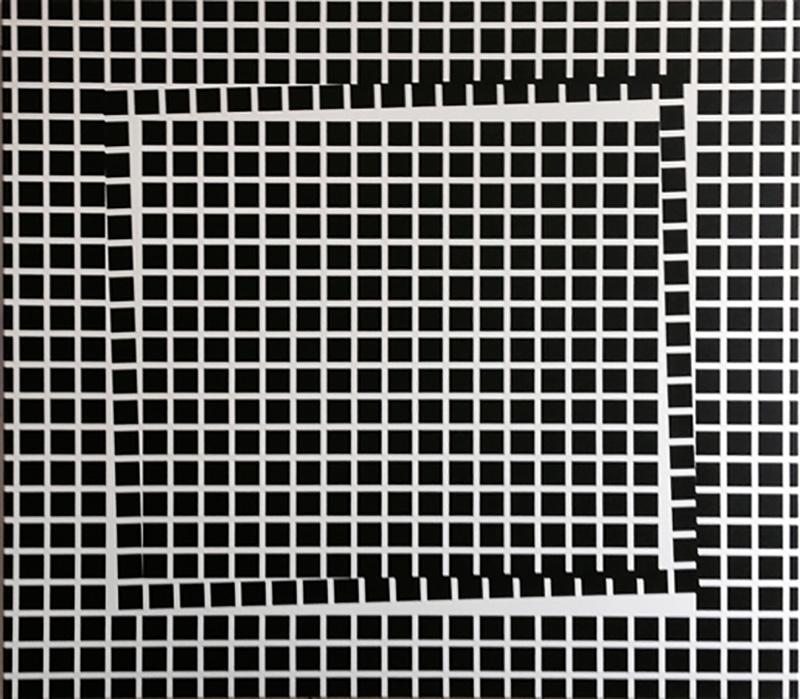 O.T., 140 x 160cm, 2015, acrylic on cotton
