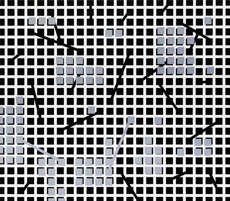 O.T., 140 x 160cm, 2017, acrylic on cotton