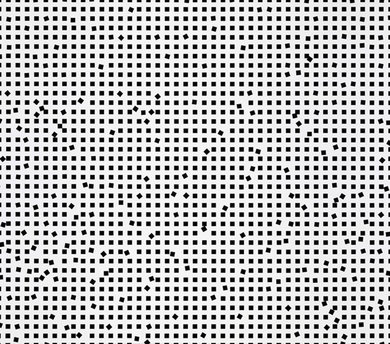 O.T., 140 x 160cm, 2018, acrylic on cotton