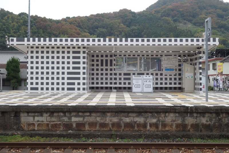 Hachihama Station, West Japan Railway, Tamano City, Japan